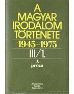 A Magyar Irodalom története 1945-1975 III/ 1-2. kötet - Béládi Miklós, Rónay László