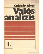 Valós analízis I. - Császár Ákos