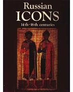 Russian Icons 14th-16th centuries - Kyzkasova, Irina