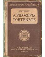 A filozófia története - Dr. Nagy József