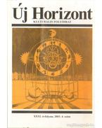 Új Horizont 2003. XXXI. évf. 4. szám - Raffai István