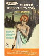 Murder, London - New York - Creasey, John