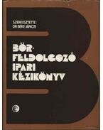 Bőrfeldolgozó ipari kézikönyv - Dr. Beke János