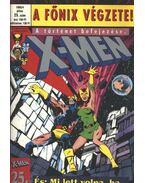 X-Men 1995/4 július 25. szám - Claremont, Chris, Byrne, John, Austin, Terry