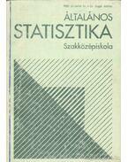 Általános statisztika - Sugár András, Róth Józsefné