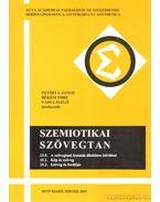 Szemiotikai szövegtan 15.0, 15.1, 15.2 - Békési Imre, Vass László, Petőfi S. János