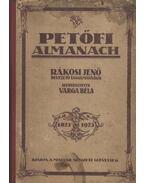 Petőfi almanach - Varga Béla