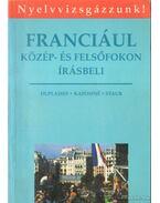 Franciául - Kaposi Tamásné, Staub Valéria, Duplaissy, Nathalie