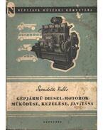 Gépjármű diesel-motorok működése, kezelése, javítása - Szendrődi Valér