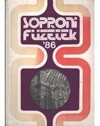 Soproni Füzetek '86 - Sarkady Sándor