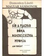 Magyar sámsonok - Domonkos László
