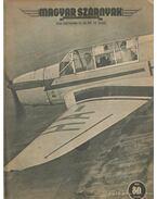 Magyar Szárnyak 1943. 18. szám szeptember - Jánosy István