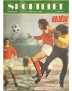 Sportélet 1974. X. évfolyam (teljes) - Pető Béla
