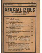 Szocializmus 1927/7. szám - Révész Mihály