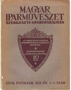 Magyar Iparművészet XXVII. évfolyam 1.-2. szám - Györgyi Kálmán