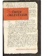 Székely oklevéltár I-II. kötet - Demény Lajos, Pataki József