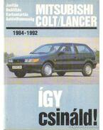 Mitsubishi Colt/Lancer - Etzold, Hans-Rüdiger