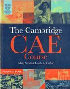 The Cambridge CAE Course - Spratt, Mary, Taylor, Lynda B.