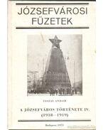 A Józsefváros története IV. - Tiszay Andor