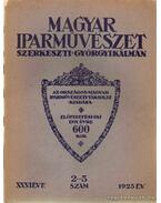 Magyar Iparművészet XXVI. évfolyam 2.-5. szám - Györgyi Kálmán