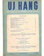 Uj Hang 1952. április 3. szám - Benjámin László