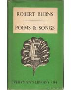 Poems and Songs - Burns Róbert