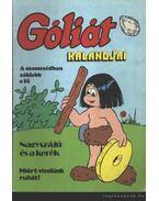 Góliát kalandjai (Góliát és a vadásztündér; A papput haragja; Góliát állatkertje) - Sequence