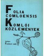 Komlói közlemények 1986. 2. - Fazekas Imre