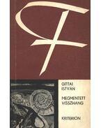Megmentett visszhang (dedikált) - Gittai István