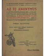 Az uj anonymus - C. SALLUSTIUS CRISPUS