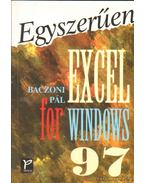 Excel for Windows 97 - Baczoni Pál