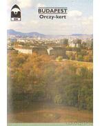 Budapest - Orczy-kert - Priszter Szaniszló