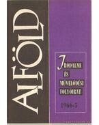 Alföld 1966/5. - Baranyi Imre