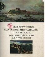 Verny a pravy obraz slovenskych miest a hradov, ako ich znázornili rytci a ilustrátori v XVI., XVII. a XVIII. storocí - Závadová, Katarína