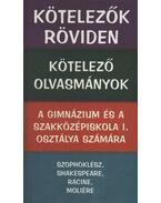 Kötelezők röviden - Kötelező olvasmányok a gimnázium és a szakközépiskola I. osztálya számára - Vadai István