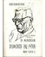 In memoriam Domokos Pál Péter - Hajdú Demeter Dénes