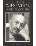 Menekülés a sors elől - Wiesenthal,Simon