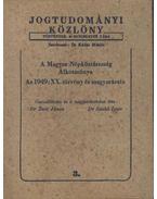 Jogtudományi közlöny 3. - Beér János, dr. (szerk.)