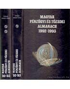 Magyar pénzügyi és tőzsdei almanach 1992-1993 I-II. - Kerekes György