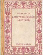 Lady Windermere legyezője - Oscar Wilde