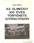 Az elmeügy 100 éves története Gyöngyösön - Varga Sándor