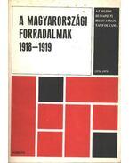 A Magyarországi forradalmak 1918-1919 - Botos János