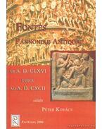 Az antik Pannonia forrásai Kr. u. 166-tól Kr. u. 192-ig - Kovács Péter