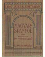 Magyar-spanyol kéziszótár - Dr. Honti Rezső