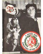 X. Honvéd Kupa Nemzetközi Öttusa Verseny 1974.