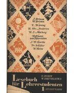 Lesebuch für Lehrerstudenten (Olvasókönyv tanítóképzősöknek I. tanév) - Bibin, O. A., Dmitrieva, B. T.