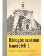 Bádogos szakmai ismeretek I-III. kötet - Hansági Béla