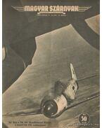 Magyar Szárnyak 1943. 12. szám június - Jánosy István