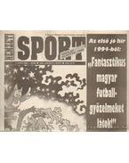 Nemzeti Sport 1994. január V. évfolyam (hiányos) - Borbély Pál