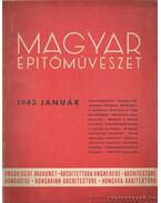 Magyar építőművészet 1943. január - Vitéz Irsy László (szerk.)